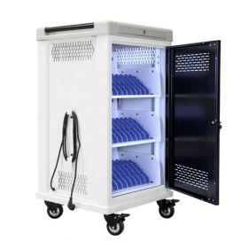 Chariot de chargement pour 30 tablettes - Lampe UV-C antibactérienne - Safecart 30
