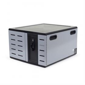 Ergotron Zip12 Charging Desktop Cabine voorkant