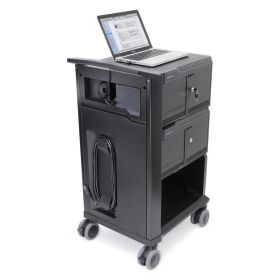 Ergotron Tablet Management Cart 32 - voor iPad - totaal